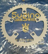 Vintage Sugino 46t Chainring 110 BCD Classic Road Touring Japan Aluminum NOS