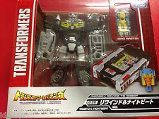 Transformers Takara Legends LG28 Titan's Return Rewind & Nightbeat NEW
