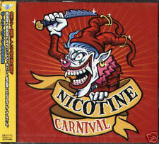 NICOTINE - CARNIVAL - Japan CD+2BONUS - NEW 16Tracks
