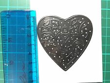 Love Heart Thinlits Cutting Die for Sizzix Spellbinders Etc. Machine