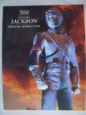 Michael Jackson History World Tour Program Book 1996