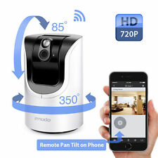 Zmodo 720p HD Wireless Pan Tilt IP Network IR Home Surveillance Security Camera