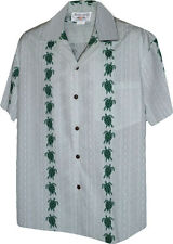 Turtle Panel Men's Aloha Shirts Pacific Legend (Made in Hawaii) 410-3832