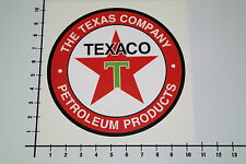 TEXACO TEXAS COMPANY Aufkleber Sticker V8 Oil Motorsport Speedshop JDM V6 Mi282
