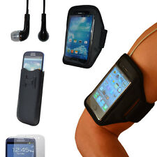 Samsung Galaxy S4 S3 Sport Armband Fitness Jogging Handy Tasche Case Kopfhörer