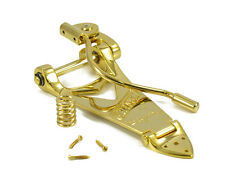 NEW Bigsby Gretsch B6GW TREMOLO Vibrato Bridge Tailpiece Arch Top Gold