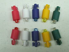 10 NEW LED Replacement Bulbs for our LED lit Arcade Push Buttons 5 Colors MAME