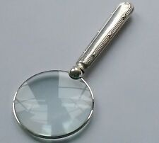 William Hutton HM Silver Handle Magnifying Glass Sheffield 1917