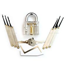 lockpicking lock lock pick tools unlocking crochetage practice padlock extractor