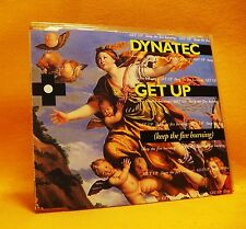 MAXI Single CD Dynatec Get Up (Keep The Fire Burning) 4TR 1994 (MINT) House