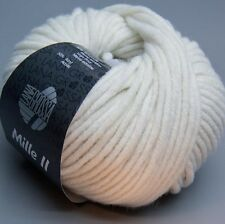 Lana Grossa Mille II 064 antique white 50g Wolle
