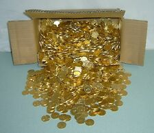 1000  ++NEW++  GOLDEN PACHISLO SKILL STOP SLOT MACHINE TOKENS / COINS