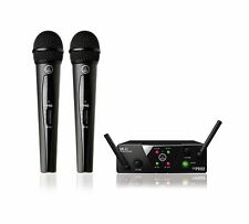 AKG WMS40 MINI2 Dual Vocal Handheld Microphone Wireless Mic System