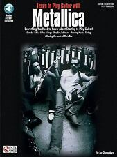 Learn to Play Guitar with Metallica (Cherry Lane) by Metallica