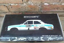 1:18 FORD ESCORT MK1 1600 RS #4 NOT MODIFIED MINICHAMPS (NEW NEVER OPENED)