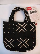 "NEW Hallmark Bogolan Mali African ""Finkumba"" Handmade Artisan Fabric Bag"