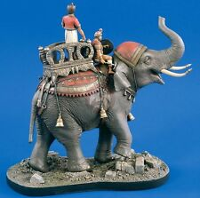 Verlinden 54mm (1/32) Khmer War Elephant Vignette with Base (3 Figures) 1719