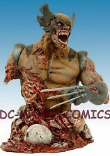 MARVEL ZOMBIES Wizard Exclusive WOLVERINE Mini BUST MIB low #182/1000 STATUE