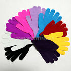 Casual Knit/Wool Winter Gloves Fashion Solid Colors One Size Women's Unisex