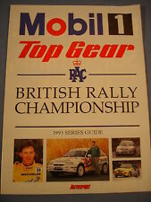 Autosport - British rally championship 1993 series guide
