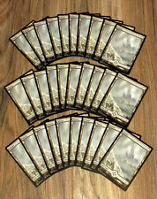 MTG 30x Wastes, Full Art x30 - Colorless EDH / Commander Basic Lands - 10 20 25