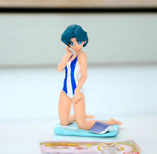 Sailor Moon Sailor Mercury Amy Ami swimsuit figurine gashapon figure Bandai