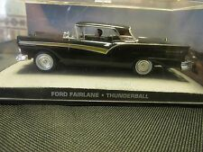 JAMES BOND CARS COLLECTION FORD FAIRLANE THUNDERBALL