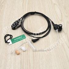 One-PIn Tube Headset Earpiece Mic For Cobra 2 Way MicroTalk Radio CXT235 CXT135