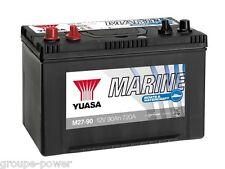 Batterie deep cycle Yuasa M27-90 12v 90ah 304x264x225mm