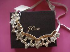 J CREW HOLIDAY RHINESTONE COLLAR NECKLACE SPARKLE STARS NEW