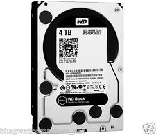 4TB WD Caviar Black Desktop Internal Sata Hard Disk Drive 7200Rpm HDD WD4003FZEX