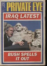 PRIVATE EYE MAGAZINE - 23 August - 5 September 2002