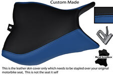 BLACK & BLUE CUSTOM FITS HONDA CB 1000 R 08-13 FRONT RIDER SEAT COVER