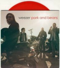 "WEEZER Pork And Beans RED PROMO 7"" VINYL [2 TRACKS] 2008"