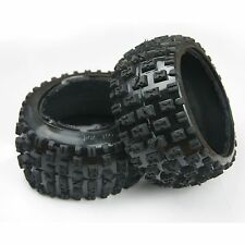 US REAR KNOBBY TYRE TIRE SET FOR HPI Rovan KingMotor BAJA 5B SS