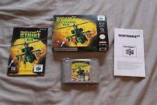 ATTACCO NUCLEARE 64 Gioco Nintendo 64 RARA TESTATO PAL n64 completo in scatola + manuale