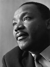 ART PRINT POSTER VINTAGE PHOTO PORTRAIT MARTIN LUTHER KING CLOSE UP NOFL0466