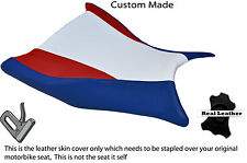 RED BLUE WHITE SPORT DESIGN CUSTOM FITS BMW S 1000 RR 09-11 FRONT SEAT COVER