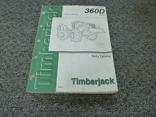 Timberjack 360D Cable Grapple Skidder Logging Parts Catalog Manual PC2870