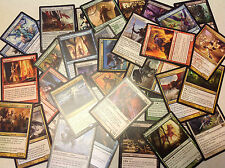 MTG CARDS - 100 CARDS BOOSTER COLLECTION LOT - RARES AND UNCOMMONS ONLY!!!