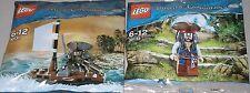 2x Lego Fluch der Karibik ! Jack Sparrow mit Boot und Jack Sparrow OVP
