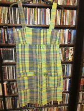 trf Zara Plaid Jumper Dress Cotton Ladies L NEW NWT   (65)