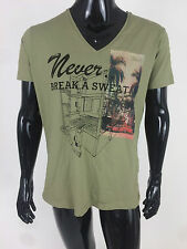 Diesel New Men's T-Klai-RT Short Sleeve T-Shirt Size XL Color Green