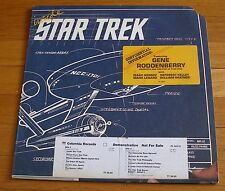 Gene Roddenberry 1976 Columbia LP Inside Star Trek William Shatner Isaac Asimov