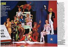 Coupure de presse Clipping 1990 (2 pages) Le Cirque du Soleil