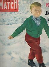 paris match n°623 / le petit peugeot megève / 1961