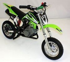 50CC GREEN POCKET BIKE MINI MOTO PIT DIRT BIKE KIDS OFF ROAD CROSSER SCRAMBLER