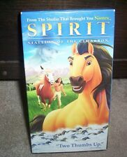 Spirit: Stallion of the Cimarron Bryan Adams Songs VHS