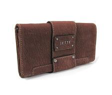 Jette Joop femmes porte-monnaie portefeuille Bourse velourleder nouveau COGNAC 13/13/0318 4