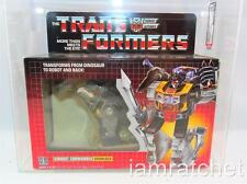 Transformers Original G1 AFA 75 Dinobot Grimlock TM Box Series 1 Art